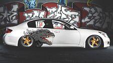 Car Side Full Color Graphics Vinyl Sticker Godzilla Kaiju Monster Body Decal