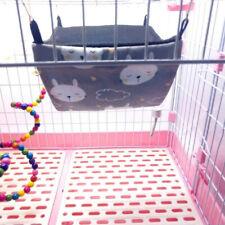 Pet Rat Hamster Parrot Rabbit Hammock Hanging Warm Soft House Bed