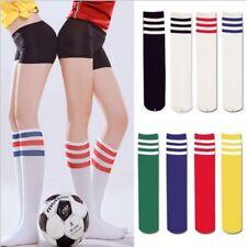 Reisestrümpfe Stützstrümpfe Fußball Streifen Socke Kniestrümpfe Baumwollmischung