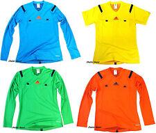 Adidas Damen Schiedsrichter Trikot Ref 14 Gr XS - XL Gelb Blau Grün Rot NEU