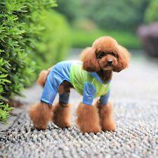 LIGHTWEIGHT Dog RainCoat Hooded WATERPOOF Coat Rain Jacket Pants REFLECTIVE Safe