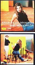 Anne-Sophie MUTTER Signiert VIVALDI Four Seasons Ltd Ed CD Die vier Jahreszeiten