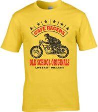 Café Racer Camiseta MOTO MOTOCICLISTA MOTERO CARRERA OLDSCHOOL Originals