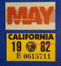 knight rider license plate targa supercar KITT pontiac TRANS AM 1982