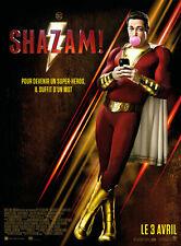 Affiche Cinéma Shazam DC Comics 120 X 160 ou 40 x 60 Pliées