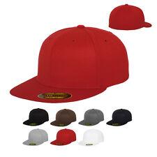 Flexfit Premium 210 Fitted Cap Kappe Baseballcap hinten geschlossen S/M L/XL Neu
