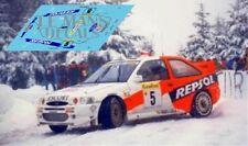 Calcas Ford Escort WRC Rallye Montecarlo 1997 1:32 1:43 1:24 1:18 decals