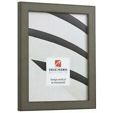 "Craig Frames Ferro, 1.0"" Antique Gray Picture Frame Poster Frame"