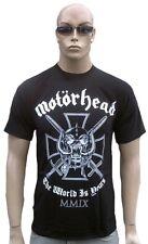 Motörhead The World is Yours Iron Cross metal estrella de rock VIP t-shirt s m XL