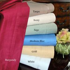 Quilt/Duvet Set AU Emperor Size Solid Colors 100%Egyptian Cotton 1000TC 3 Pieces