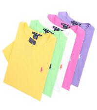 Ralph Lauren Sport Women's Crew-Neck Solid Top Pony Tee T-Shirt - $0 Free Ship