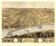 Panoramic Print - Lexington Missouri - Ruger 1869 - 23 x 27.96