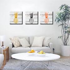 Wall Art Canvas Painting Pineapple Fruit Bedroom Dining Room Decor Rapture