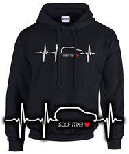 GOLF MK 3 TUNING Felpa battito cardiaco pulsazioni Tuning GTI VW incontro vr6 CACCIAVITI