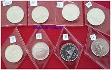 500 LIRE ARGENTO CARAVELLE FDC 1968,1969,1970,1980,1981,1982,1983,1984,