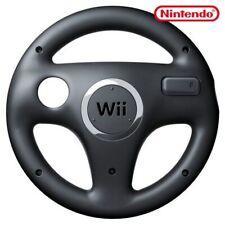 Wii - original Controller Aufsatz: Lenkrad / Racing Wheel #schwarz [Nintendo]