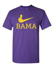LSU Tigers Fan Flipping the Bird Middle Finger to Bama Men's T-Shirt