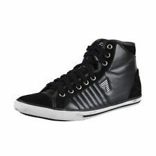 Emporio Armani EA7 Women's Hi Top Suede Leather Sneakers Shoes 4.5 5 5.5 6