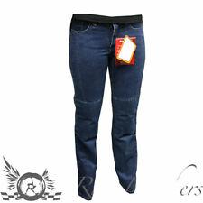RS 1001 motohart aramide fibre renforcé moto bleu long jeans