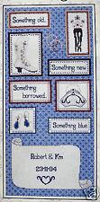 Wedding Sampler - DMC counted cross-stitch kit