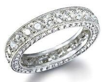 Band Engagement Womens Size 5 - 9 New listing 2.76 Diamond Simulated Eternity Ring Wedding