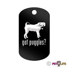 Got Puggles Engraved Keychain Gi Tag dog Many Colors