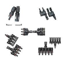 MC4 Stecker 1-1 bis 5-1 / Y T Stecker / Verzweigungsstecker / Solar Photovoltaik