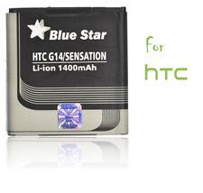 Batterie Li-ion Blue star pour GSM HTC Sensation G14, 1400mAh