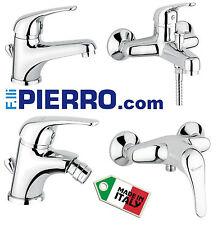 Serie bagno Lavabo Bidet Doccia Vasca rubinetto miscelatore termostatico ITALIA