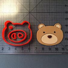 Bear Face 101 Cookie Cutter Set