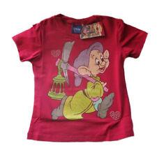 T-Shirt Disney Cucciolo Dopey Fragola Maglietta Sette Nani *11297
