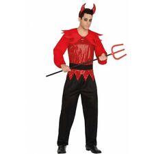 Costume demonio adulto Disco Music Discoteca Diavolo Halloween Carnevale  vestito 4e8fec13907