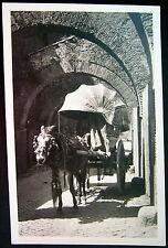 Italy ITALIA ~ 1900's ROME ROMA ~ Via S. Giovanni e Paolo ~ WINE CART ~ RPPC