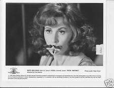 Kate Nelligan w/moth on mouth Fatal Instinct VINTAGE Ph