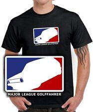 Fun T-SHIRT * MAJOR LEAGUE GOLFFAHRER * MK1 Golf 1 Tuning 1er Gti vw SATIRE KULT