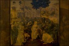 Poster, Many Sizes; Adoration Of The Magi By Leonardo Da Vinci