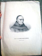 1840 RITRATTO INCISO PADRE ALESSANDRO MARIA DA MODENA