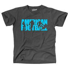 T-Shirt AMERICAN FOOTBALL Schrift Sport Siviwonder
