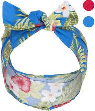 Coste carogna Julia VINTAGE HIBISCUS ALOHA fiori 50s Pin Up Fascia per Capelli Headband