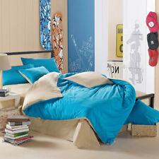 3D Blue Kids Home 687 Bed Pillowcases Quilt Duvet Cover Set Single Queen King CA