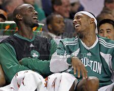 Kevin Garnett Paul Pierce Boston Celtics on bench fun 8x10 11x14 16x20 photo 818