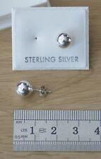 PIN Ball Orecchini Argento Sterling [7.96mm]
