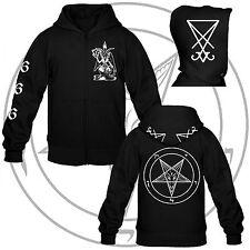 Heil Luzifer - Hooded Zipper/Kapuzenjacke II,Pentagram, Baphomet,Venom,666,Satan
