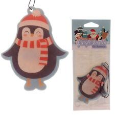 BASTONCINO DI NATALE, Pinguino, ha un profumo deodorante, cannella Spice, auto, casa, ufficio