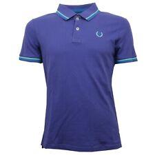 C7198 polo maglia uomo ALCOTT N 53 viola t-shirt men