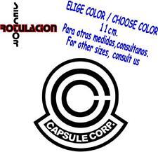 r2070- Capsule Corp Dragon Ball Z Pegatina Vinyl Decal Sticker