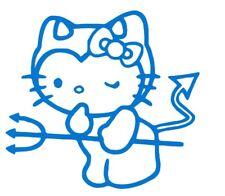 Hello Kitty devil pitchfork sticker Decal in/outdoor permanent