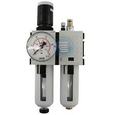 Futura Druckminderer Druckregler Öler Druckluftregler Filter 2-teilig 1800 l/min