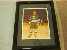 Bobby Hull Hartford Whalers Hockey Autographed Framed Photo PSA/DNA