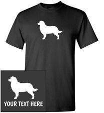Bernese Mountain Dog Silhouette T-Shirt, Men Women Kids Long Tank Custom Tee